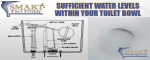 Sufficient Water Levels Within Your Toilet Bowl