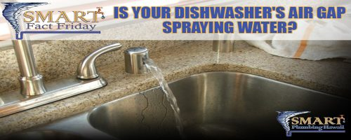SMART Fact Friday: Is your dishwasher's air gap spraying water?