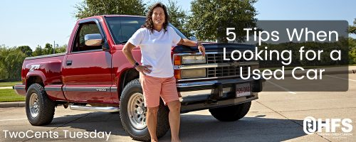 5 Tips When Looking for a Used Car