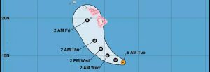 Hurricane LANE Update 8/21 8:45am