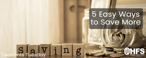 5 Easy Ways to Save More