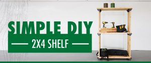 Simple DIY with HPM – 2x4 Basics ShelfLinks