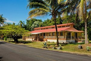 Big Island Real Estate- Polynesian Longhouse