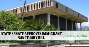 STATE SENATE APPROVES IMMIGRANT SANCTUARY BILL