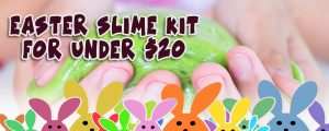 Keiki Krafts - Easter Slime Kit For Under $20