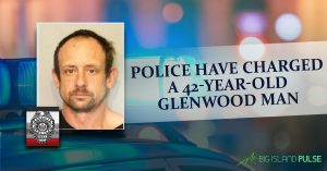 Police have charged a 42-year-old Glenwood man following a police pursuit