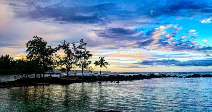 Picture of Hilo Bay in Hilo Hawaii Aloha is the solution