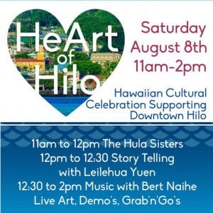 Picture of flyer HeArt of Hilo