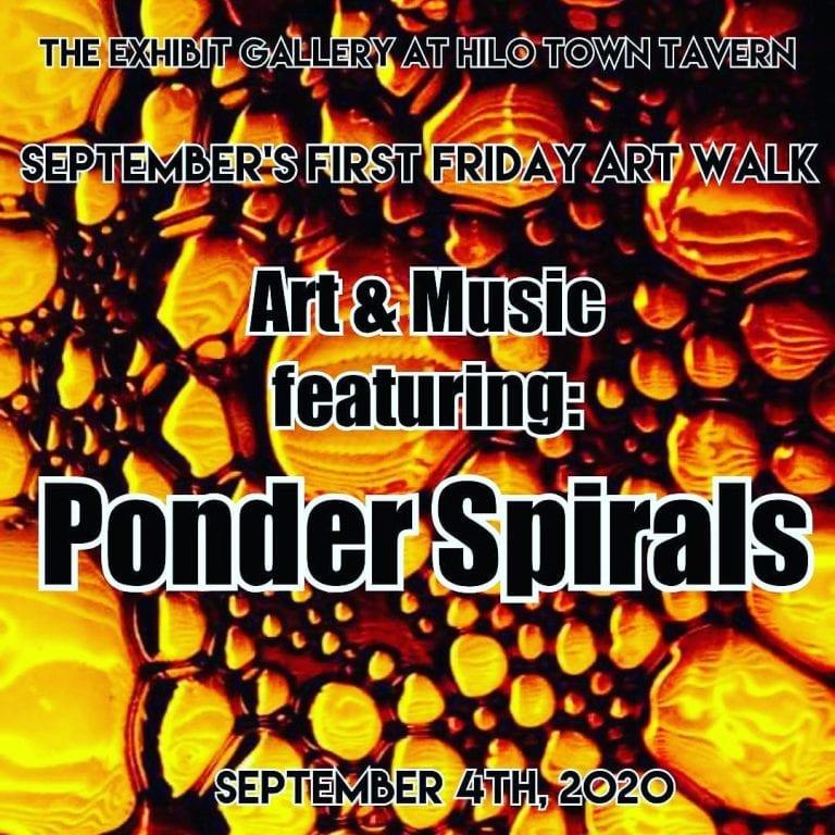event flyer first friday art walk