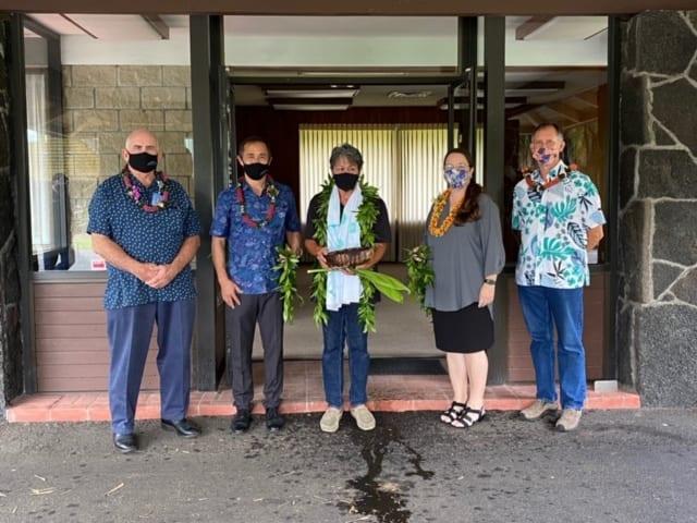 groundbreaking at East Hawaii Health Clinic Keaau