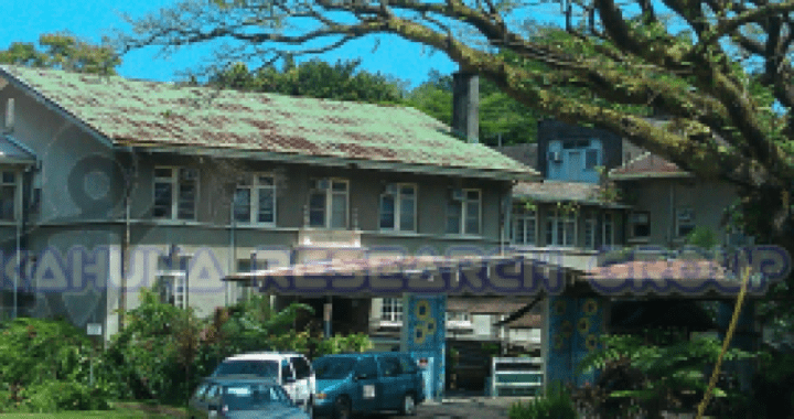 Old Hilo Memorial Hospital, one of Big Island's spookiest places