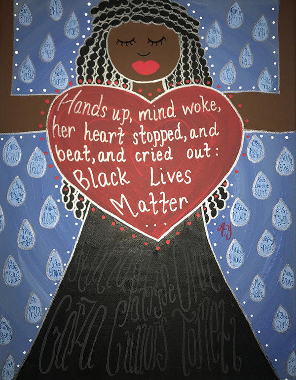 Mothers of Black Lives Matter by Angela Yarber