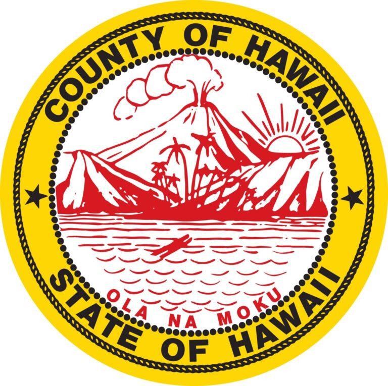 County of Hawaii Seal